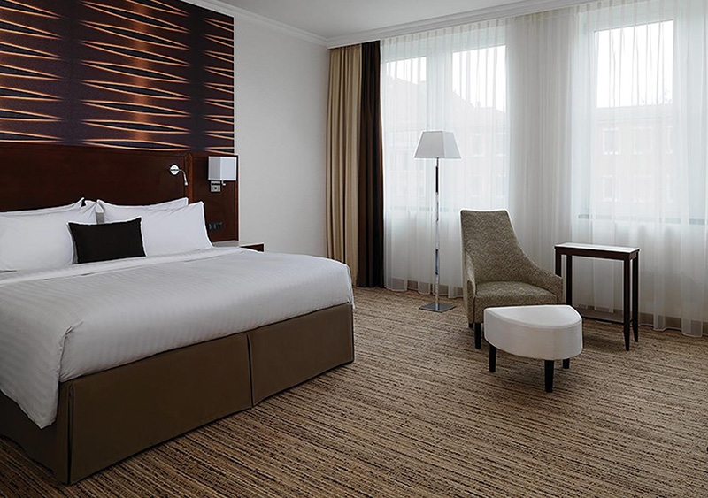 Suíte do Cologne Marriott Hotel