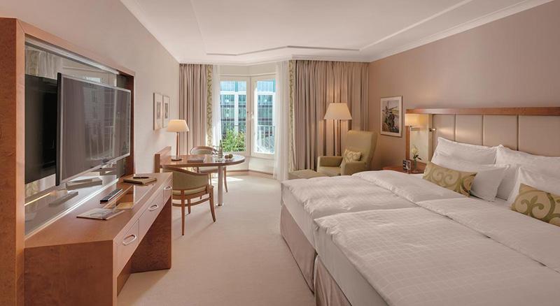 Suíte do Hotel GRAND ELYSEE Hamburg