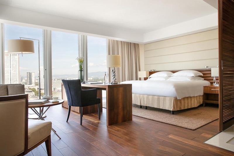 Suíte do Hotel Jumeirah Frankfurt